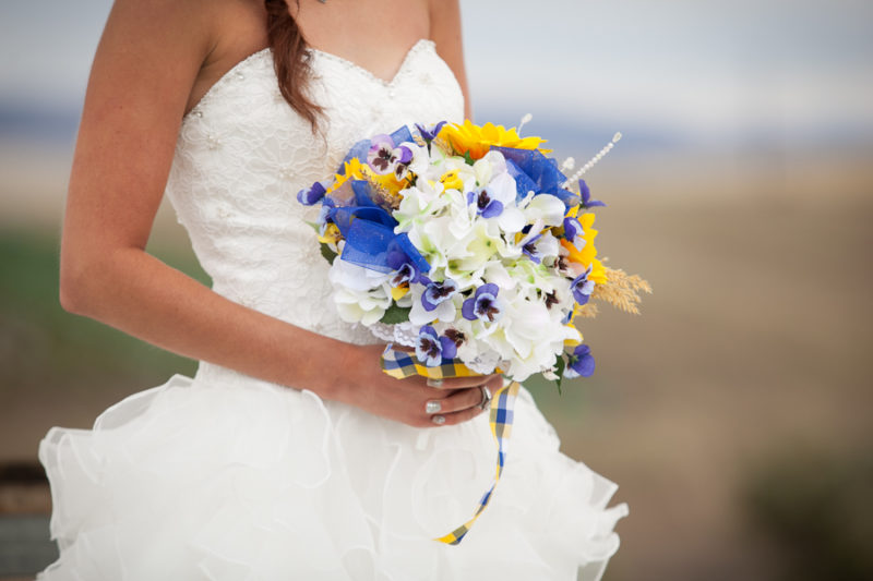 Lewiston wedding bouquet